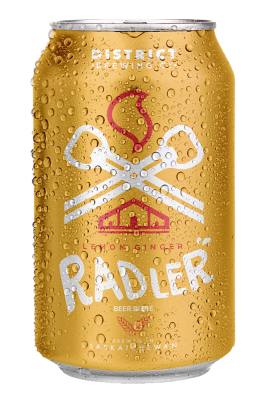 Lemon Ginger Radler